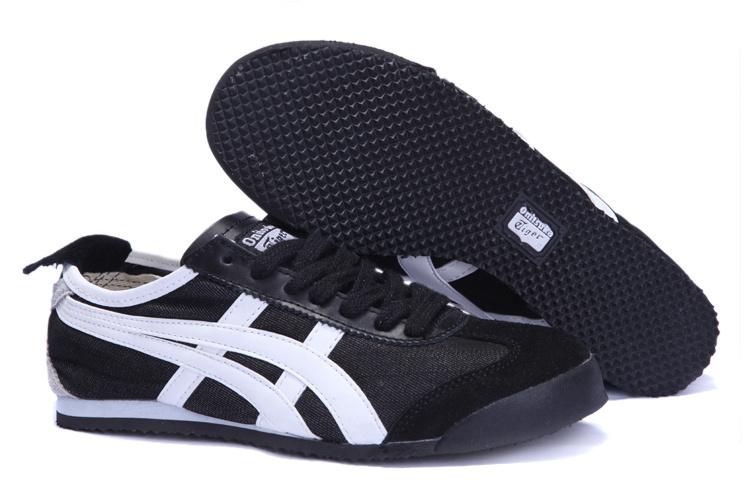 Onitsuka Tiger Mens Shoes (Black/ White