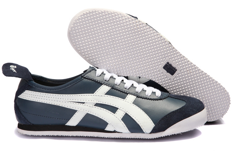 Onitsuka Tiger Mens Grey White Black Shoes