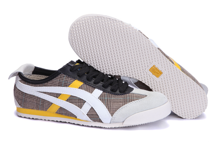 Onitsuka Tiger Mens Shoes (Grey/ White / Yellow)