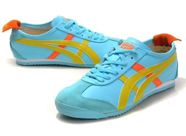 onitsuka tiger strawberry yellow orange shoes
