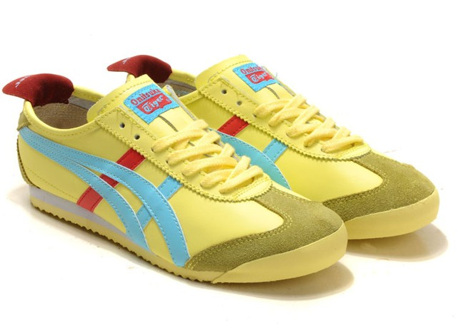 Onitsuka Tiger Mexico 66 Lauta Yellow Moon Tomato Shoes