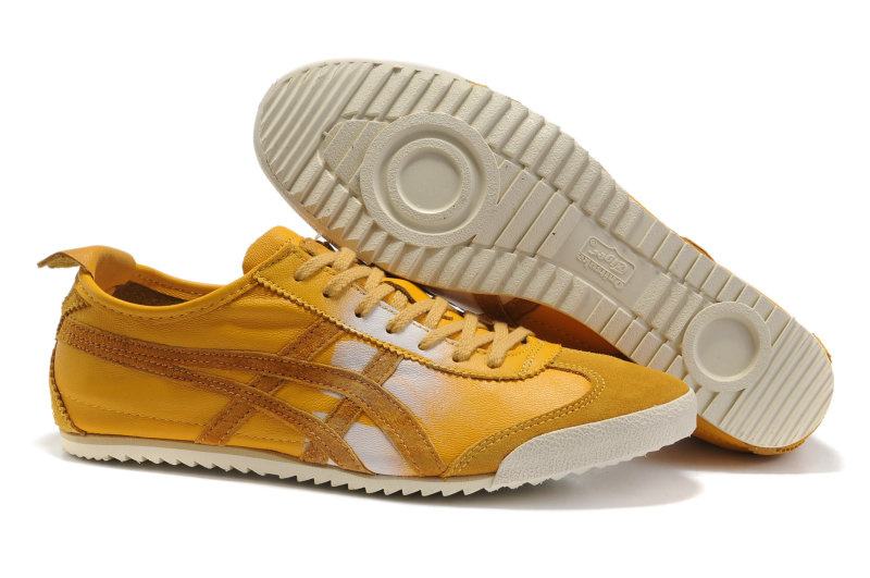 Onitsuka Tiger deluxe yellow