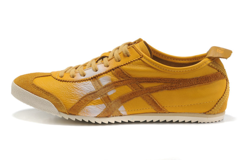 (Army Yellow) Onitsuka Tiger Mexico 66 Deluxe Shoes