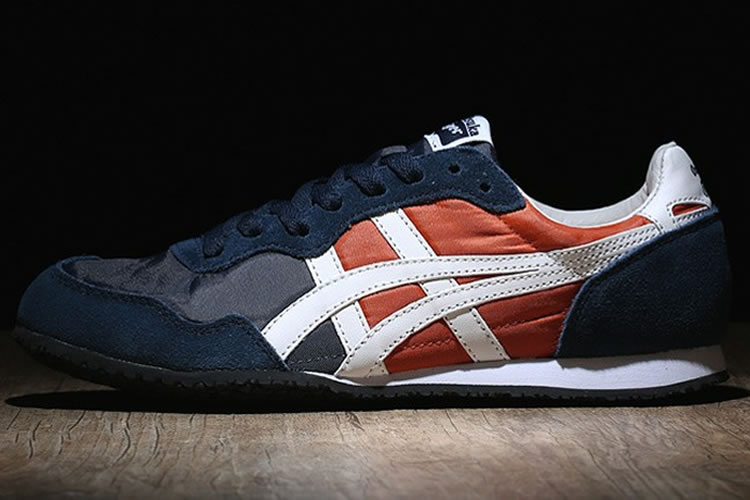 (Navy/ White/ Orange) Onitsuka Tiger Serrano Shoes
