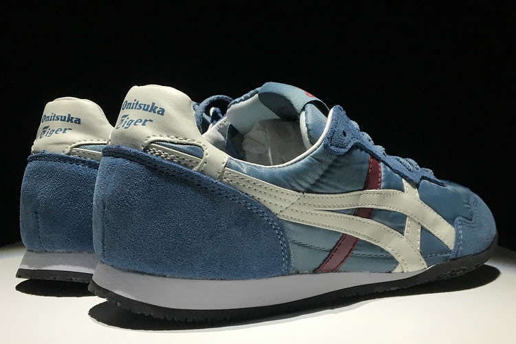 Onitsuka Tiger Serrano (Grey/ White/ Red) Shoes
