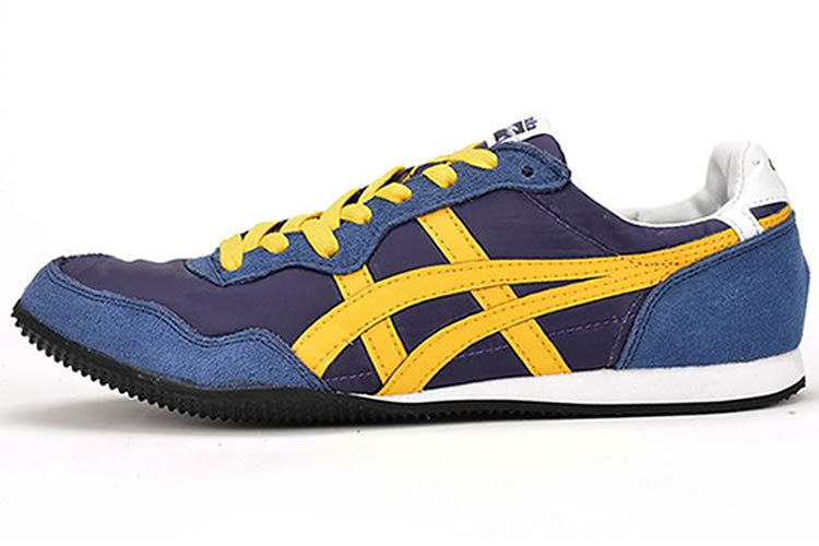 reputable site 125c9 8e5ee Blue/ Yellow) Onitsuka Tiger Serrano Shoes, a new blue one