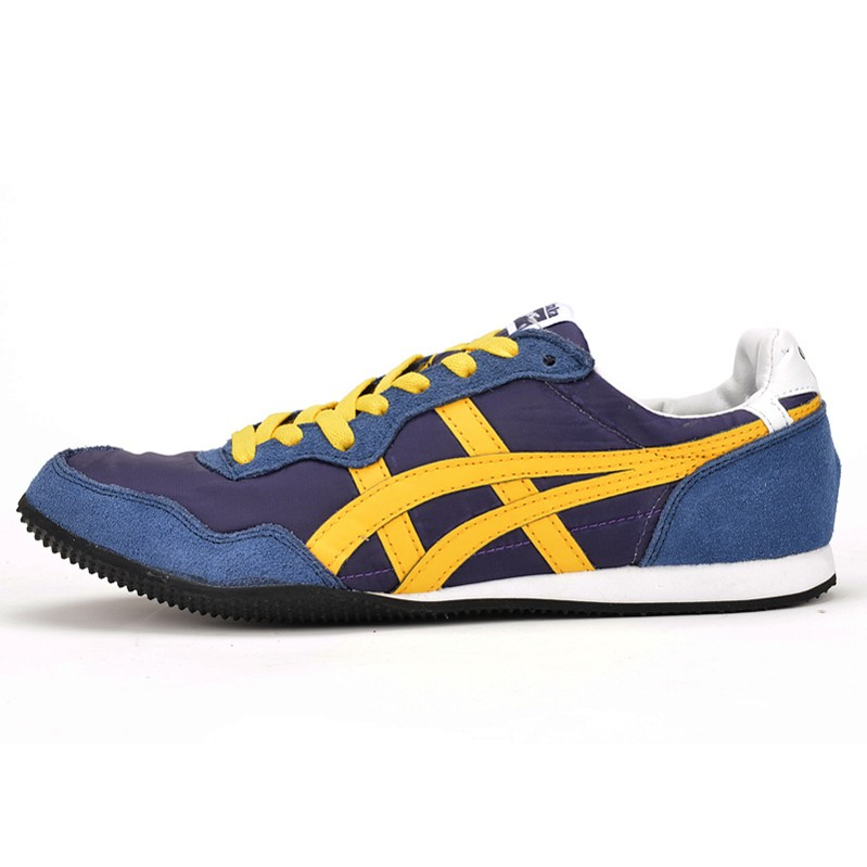 (Purple/ DK Blue/ Yellow) Onitsuka Tiger Serrano Shoes