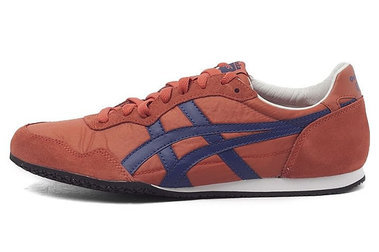 Onitsuka Tiger Serrano (Claret Red/ Blue) Shoes