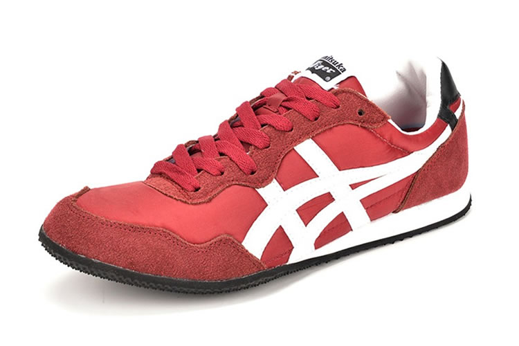(Claret Red/ White) Onitsuka Tiger Serrano Shoes