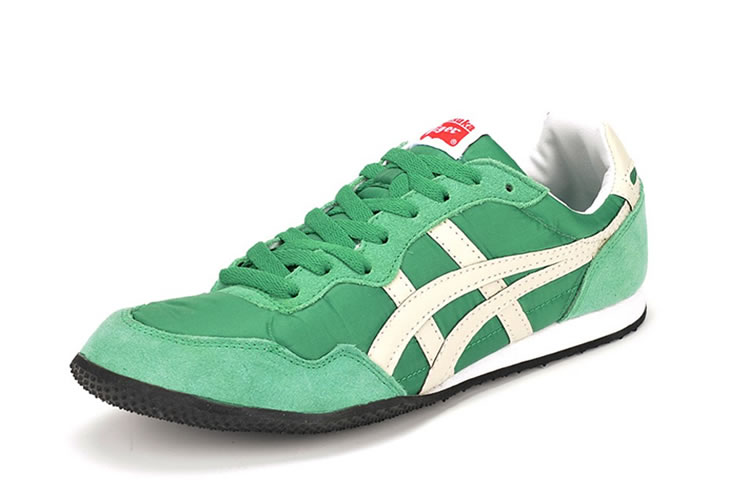 (Green/ White) Onitsuka Tiger Serrano Shoes