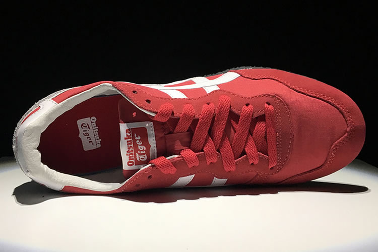 (Red/ White) Onitsuka Tiger Serrano Shoes
