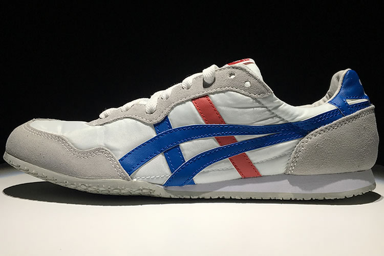 Onitsuka Tiger Serrano (White/ Blue/ Red) Shoes