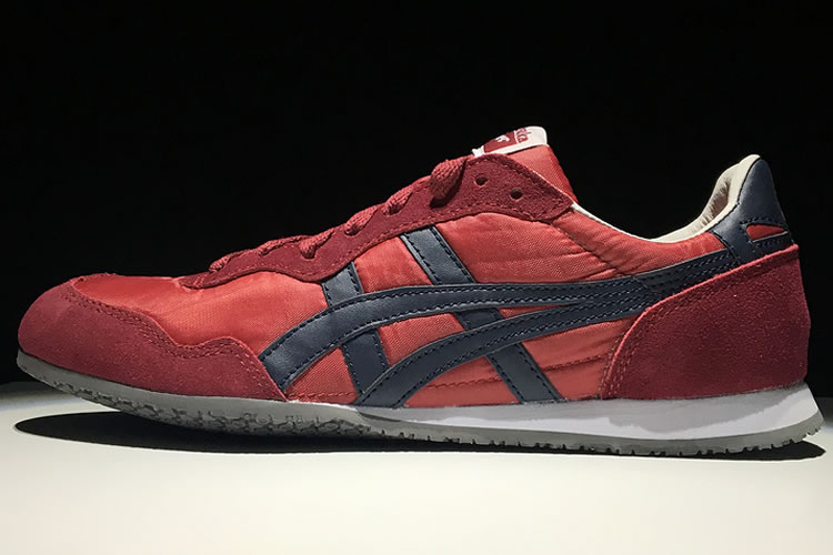 (Claret Red/ DK Blue) Onitsuka Tiger Serrano Shoes