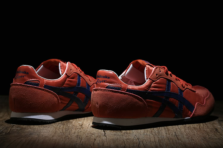 Onitsuka Tiger Serrano (Orange/ Purple) Shoes - Click Image to Close
