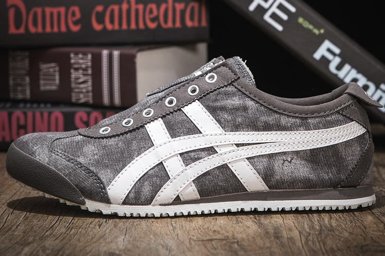 (Camo/ Beige) Onitsuka Tiger Mexico 66 Slip On Shoes