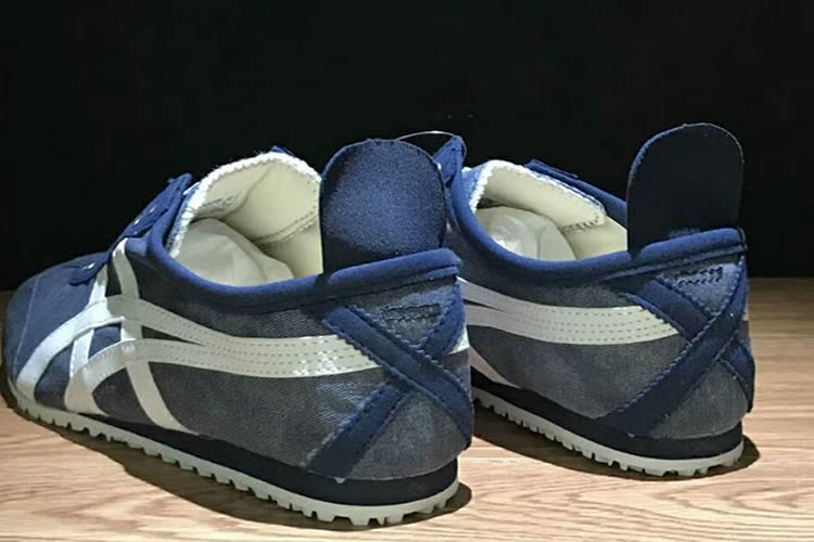 (Blue/ White) Onitsuka Tiger Mexico Slip On Shoes
