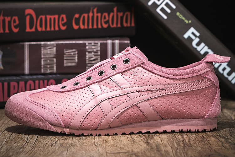Onitsuka Tiger SLIP ON (Pink/ Pink) Shoes