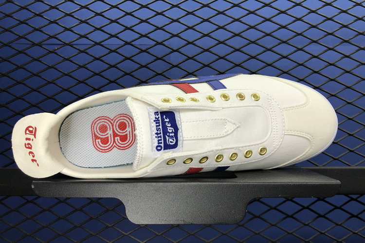 (White/ Blue/ Red/ Gold) MEXICO 66 SLIP ON Shoes