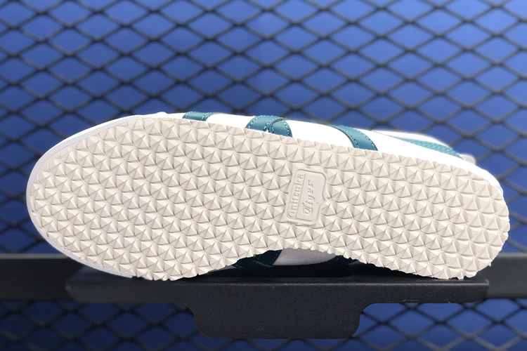 (White/ Winter Sea) MEXICO 66 SLIP ON Shoes - Click Image to Close