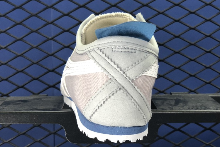 (Grey/ White/ Blue) MEXICO 66 SLIP ON Shoes