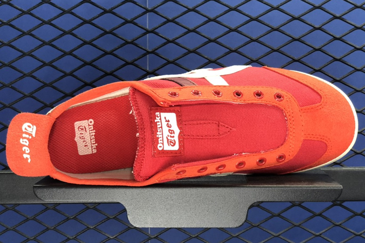 (Red Snapper/ Birch) MEXICO 66 SLIP-ON Shoes