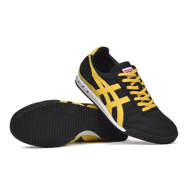 (Black/ Yellow) Onitsuka Tiger Ultimate 81 Shoes