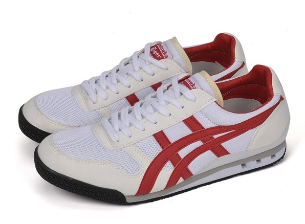(White/ Red) Onitsuka Tiger Ultimate 81 Shoes