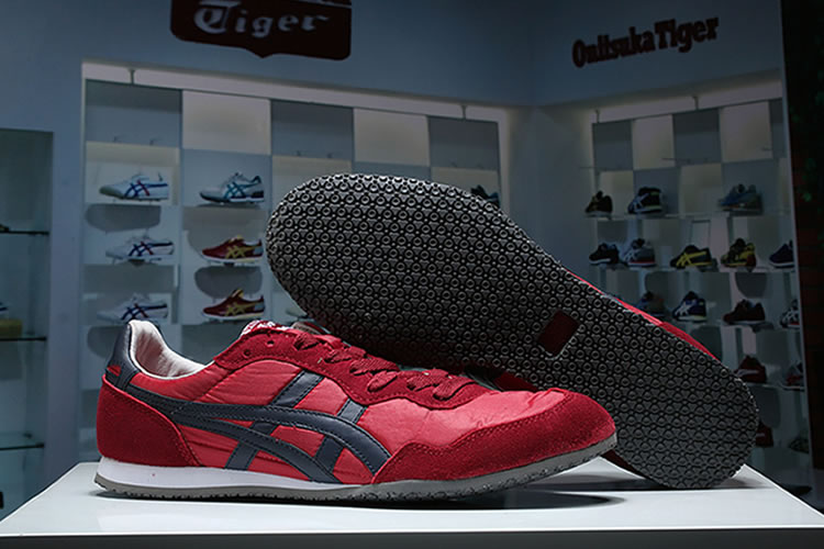 (Red/ DK Blue) Onitsuka Tiger Ultimate 81 Shoes