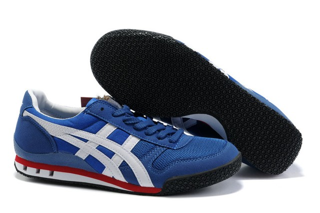 Blue White Red Onitsuka Tiger Ultimate 81 Shoes