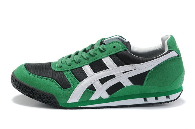 Green White Black Onitsuka Tiger Ultimate 81 Shoes