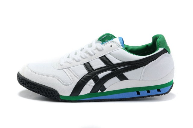 (White/ Black/ Green) Onitsuka Tiger Ultimate 81 Shoes