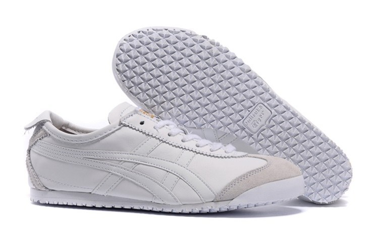 Womens Onitsuka Tiger Mexico 66 All White Shoes [HL202-6662 ...