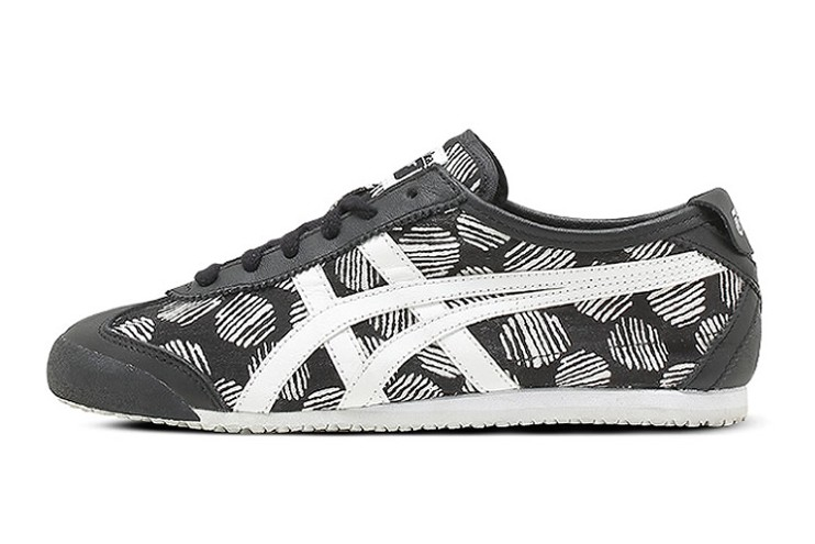 Women's Onitsuka Tiger Mexico 66 (Black/ White) Shoes