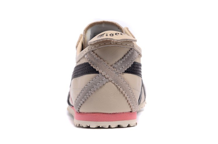 (Beige/ Brown/ Pink) Onitsuka Tiger Womens Mexico 66 Shoes