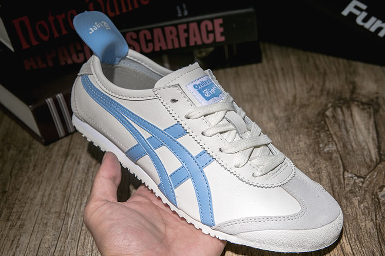 Onitsuka Tiger Mexico 66 (Milky/ Light Blue) Women Shoes