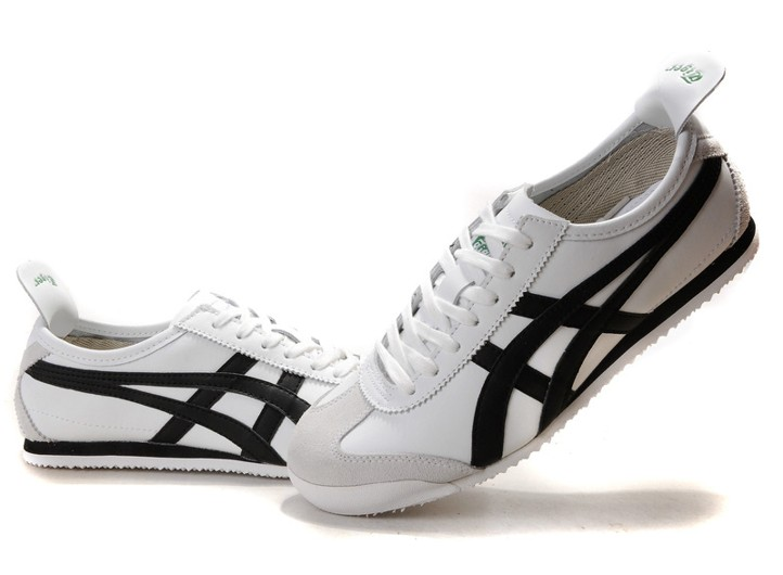 Buy Cheap Asics Sneakers Tiger Mexico 66 Shoes Black White